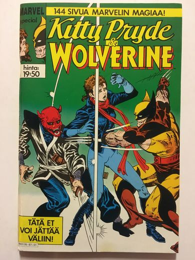 MARVEL special - Kitty Pryde & WOLVERINE