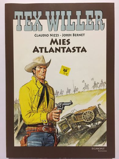 TEX WILLER suuralbumi 21 - MIES ATLANTASTA