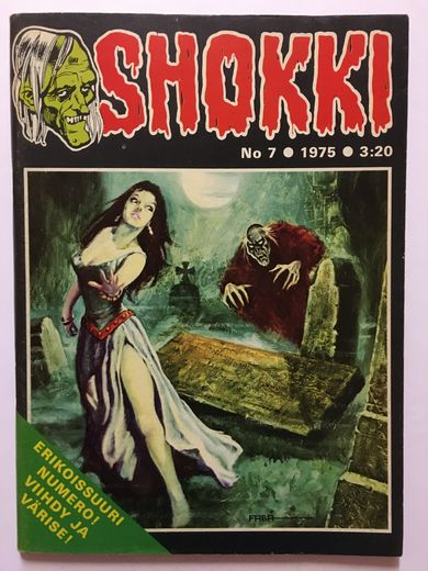 SHOKKI No 7 - 1975 + juliste